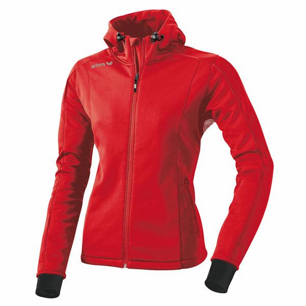 Softshelljacke f/ür Damen Volute warme Jacke mit schmaler Passform Mustaghata atmungsaktiv und wasserabweisend abnehmbare Kapuze